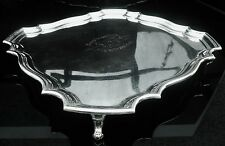 Silver Tray Salver, Nore Yacht Club Motor Boat Racing 1922, Alexander Clark Co