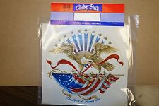 Decals for ceramics eagle draped flag stars and stripes lot of 10