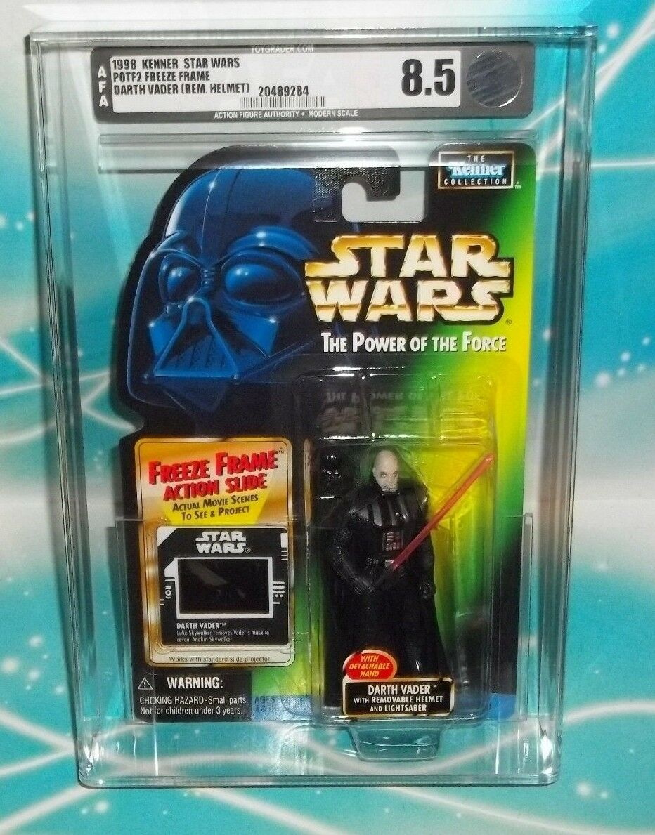 minorista de fitness Estrella Wars Potf congelar fotograma fotograma fotograma FF tarjeta Darth Vader Con Casco Removible AFA 8.5  salida para la venta
