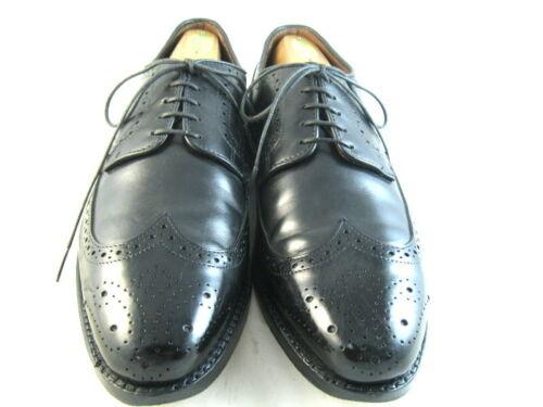 """Allen Edmonds """"Stuttgart"""" Oxfords 9 D Black  (101)"""