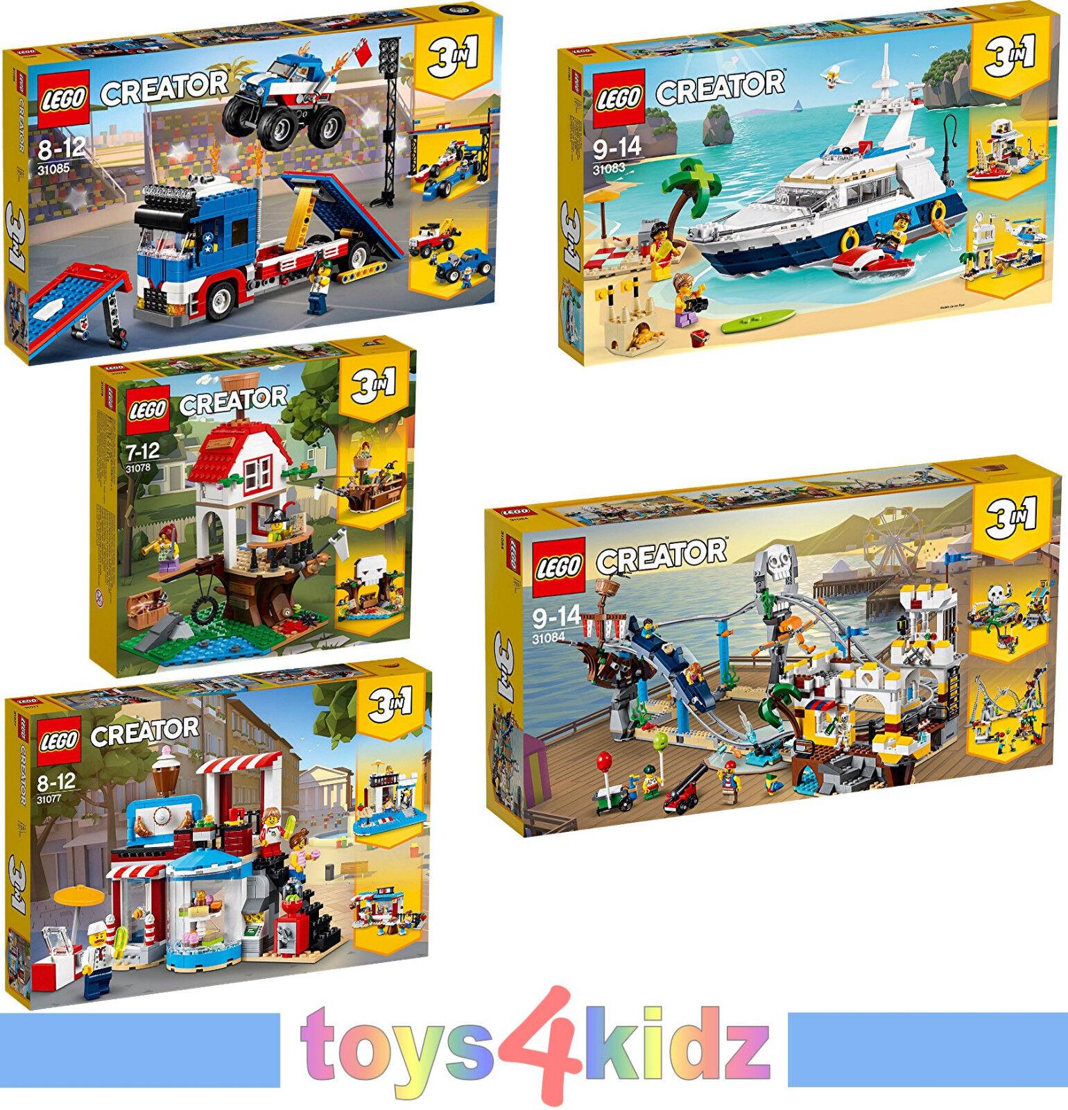 LEGO® CREATOR 31077 - 31085 zum Auswählen   NEU / OVP