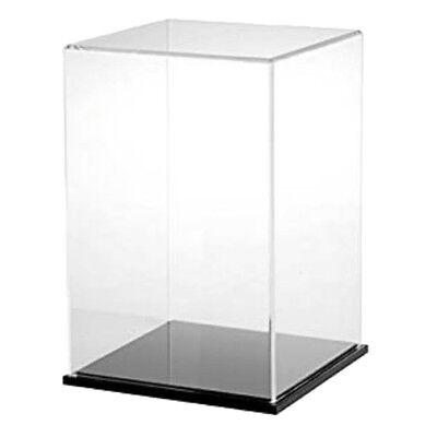 25x15x15cm acrylique transparent vitrine d/'exposition boîte pour figurines