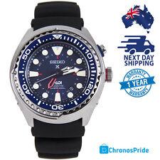 SEIKO PADI Prospex SUN065 Special Edition 5M85 Mens Watch Silicone Black GMT