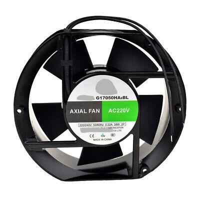 For JIULONG G17050HA2BL AC220V 38W 0.22A 172*150*51mm 2wire Cooling fan