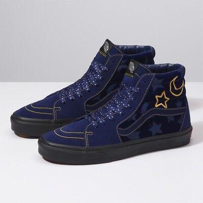 00f845dc1ded Vans x Disney Sk8-Hi Mickey Sorcerer s Apprentice Black Blue Gold -  VN0A38GEUPP1
