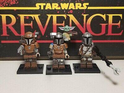 Mandalorians jet lot of 3 /& Baby Yoda #6 set minifigure clone troopers Star Wars