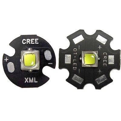 1~20pcs CREE 10W XM-L2 L2 Upgrade T6 Cool White LED bead light With 16/20mm Base