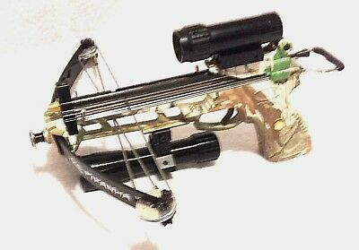 6mm balls magazine CAMO 50 lbs PIRANHA Fishing Tactial pistol crossbow