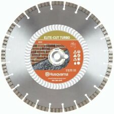Husqvarna Elite Cut 14 Inch Turbo Masonry Brick And Block Saw Diamond Blade