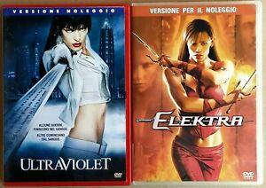 ULTRAVIOLET-2004-con-Milla-Jovovich-ELEKTRA-2005-con-Jennifer-Garner-2-DVD