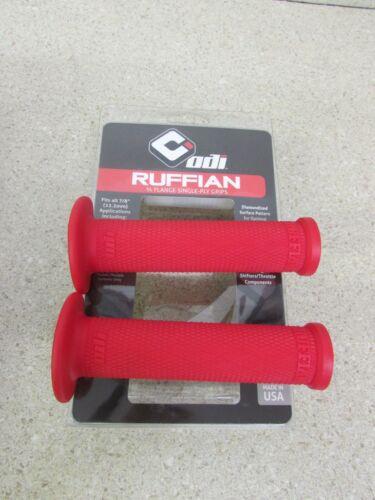 ODI RED RUFFIAN ATV GRIPS SUZUKI LTZ400 LTR450 LTZ90 LTZ250 EIGER QUADRUNNER LTZ