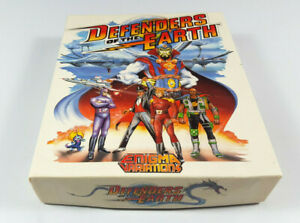 Defenders-of-the-Earth-Commodore-Amiga-Spiel-Big-Box-OVP-VGC-CIB-Vintage