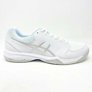 Asics Gel-Dedicate 5 White Silver Womens Tennis Shoes E757Y 0193