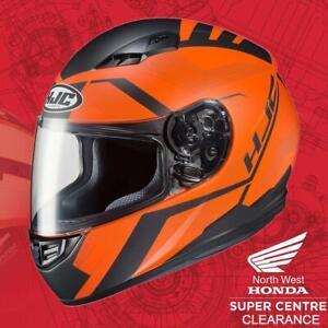 HJC Orange CS-15 Faren Motorcycle Helmet