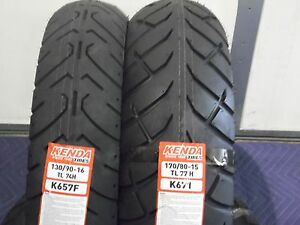 Two Tire Set Motorcycle Tires 130 90 16 Front 170 80 15 Rear K657 K671 16 15 Ebay