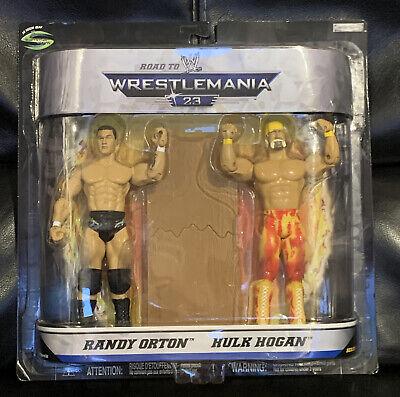 Hulk Hogan & Randy Orton Wrestlemania 23 Figures WWE WWF Hulkamania Viper Jakks 39897982465 | eBay