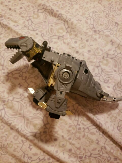 Transformers G1 Dinobots Grimlok Incomplete PARTS OR REPAIR