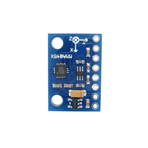 GY-45 MMA8452 Digital Triaxial Accelerometer High-precision Inclination Module