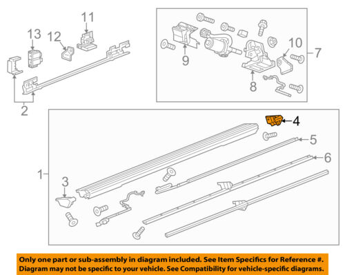 GM OEM Running Board Step-End Cap Right 22935821