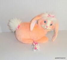Vintage 1992 Bunny Surprise Plush Peach 1 Baby Rabbit #8803 Hasbro Lot P53