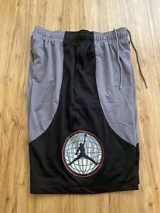 Dire la verità Discoteca imitare  Nike Jordan Legacy Flight Nostalgia AJ 9 Shorts Grey/Black BV5456-056. Sz  L-Tall 192500466544 | eBay