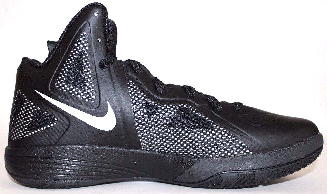 Nike zoom hyperfuse 2018 tb - mens basketball - schuhe in schwarz / weiß / schwarz 454146 001