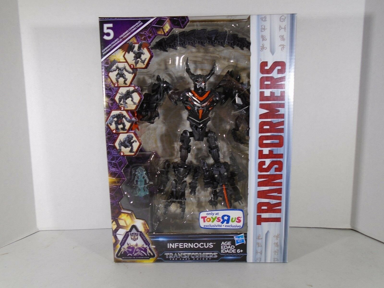 2016 2016 2016 HASBRO--TRANSFORMERS THE LAST KNIGHT--INFERNOCUS FIGURE (NEW) TOYRUS EX. a6094a