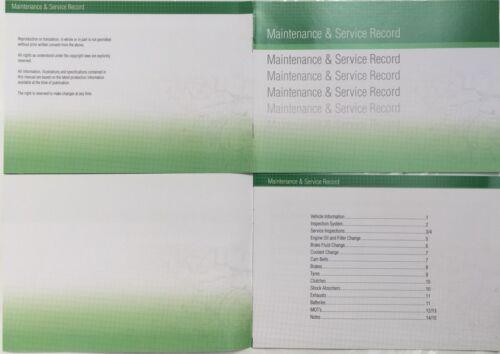 KIA générique de Remplacement Voiture Service History Book nouveau manuel blanc G