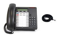 Lot Of 10 Mitel 4000 Series Handset Cord 12ft Black 4001 4015 4025 4150