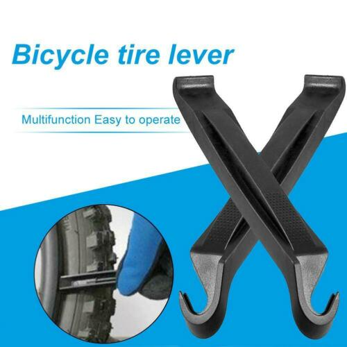 Tube Change Removal Bike Levers Tool Set Useful Hot 2 Packs Black Bicycle Tire