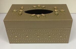 Luxury-Gold-Tissue-Box-Holder-Jewelled-Gem-Design-Tissue-Box-Holder