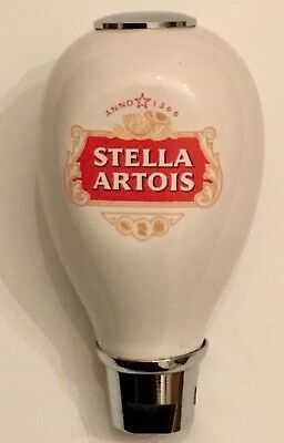 Stella Artois Beer Lager Ale Tap Draft Handle Brewery Inbev Rare Collectors Item