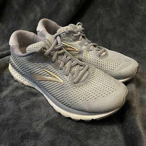 Brooks-Womens-Adrenaline-GTS-20-1202961D073-Grey-Running-Shoes-Lace-Up-Size-9-5