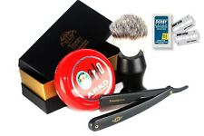 ARKO STRAIGHT CUTTHROAT RAZOR SHAVING COMPLETE CUT THROAT SET