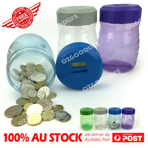 Money-Jar-Digital-Coin-Counting-Piggy-Bank-pot-SAVE-MONEY-Designed-for-Australia