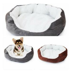 Soft-Cotten-Mat-Pad-Puppy-Pet-Dog-Cat-House-Nest-Fleece-Warm-Cozy-Bed-Flannel