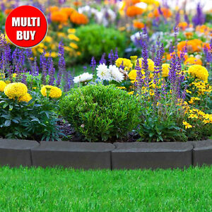 Recycled Rubber Lawn Edging Stomp Edge Border Path