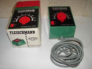 FLEISCHMANN-6750-TRANSFORMATEUR-LOCOMOTIVES-ET-ACCESSOIRES-EN-BOITE-HO-ET-N