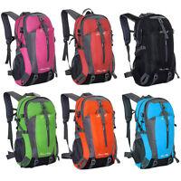40L Rucksack Backpack Sport Freizeit Schule Reise Outdoor Wandern Trekking NEU