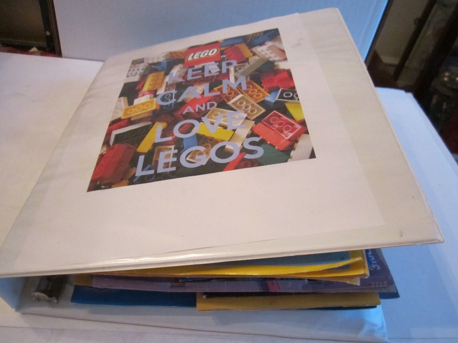LOT OF 46 LEGO INSTRUCTION MANUALS - IN THE BINDER BINDER BINDER - SEE PICS fc4644