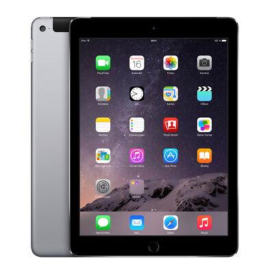 Apple iPad Air 2 - 64GB - Wi-Fi - Space Grau - Zustand A - LESEN