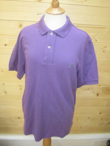 JOULES Woody Classic Polo Dk Purple Sz S M L XL RRP£34.95 FreeUKP/&P