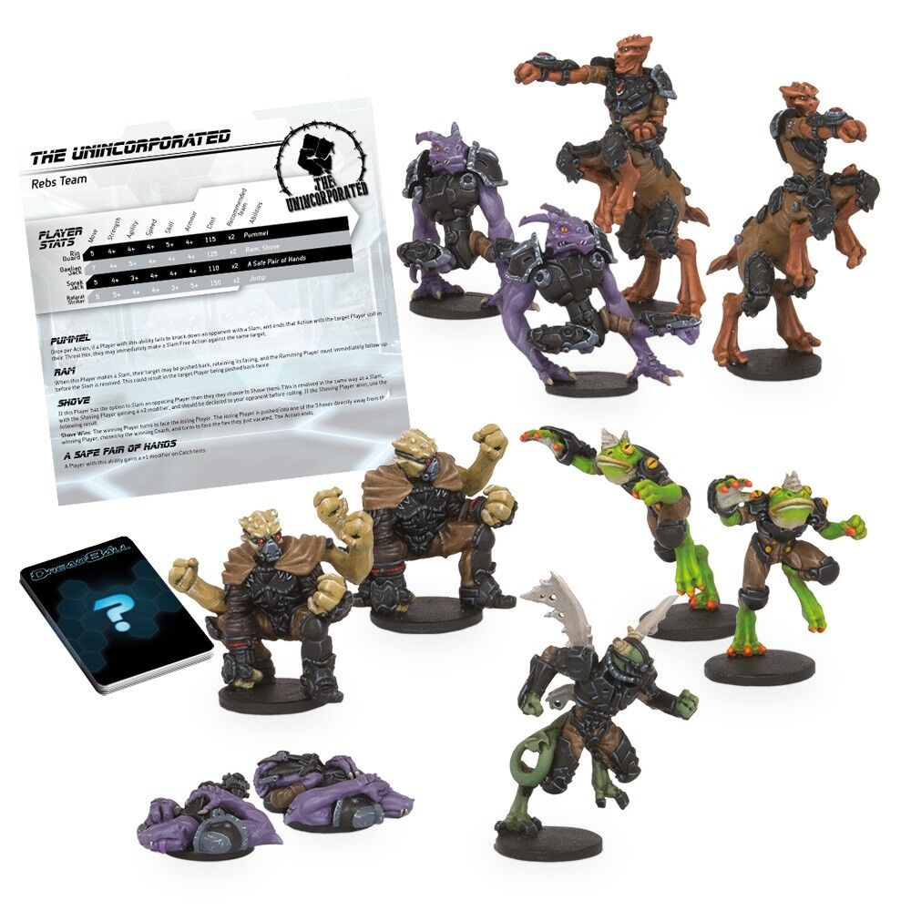 THE UNINCORPORATED - DREADBALL 2ND EDITION TEAM - MANTIC GAMES - NOW