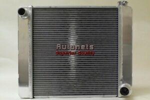 """Ford Small Big Block Aluminum Radiator 31/"""" X 19/"""" universal SBC BBC Hot Rat Rod"""