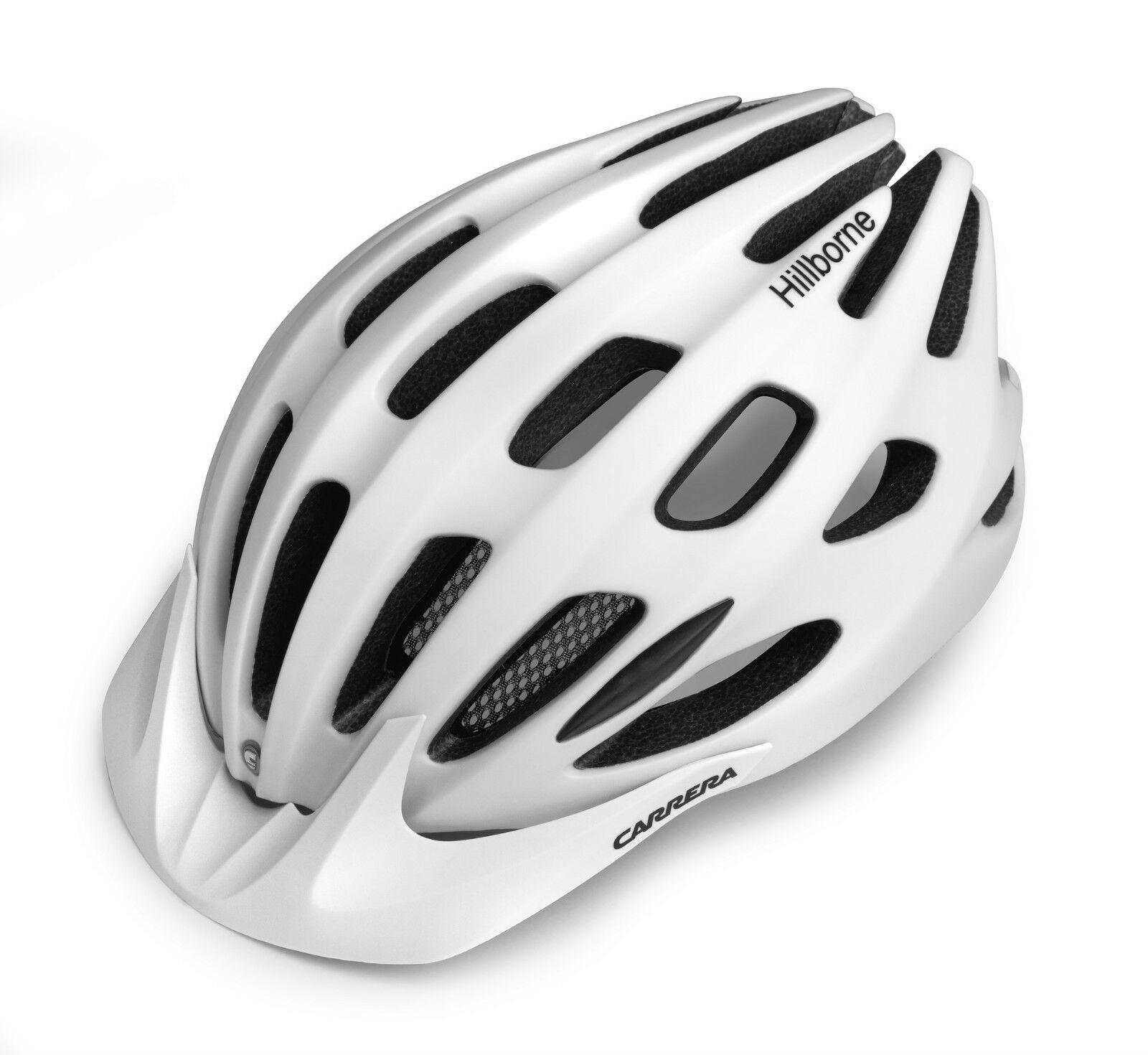 Carrera Hillborne MTB Freeride Cycle Bike Helmet S-M   L-XL Matte White BNIB