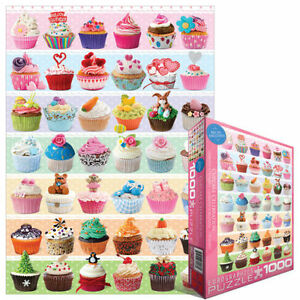 Cupcakes Occasions 1000 PIECE JIGSAW PUZZLE EG60000586 - Eurographics