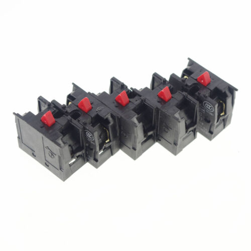 LOT OF 5 TELEMECANIQUE ZB2-BE101C NC CONTACT BLOCK REPLACES TELE 10A 400V NEW