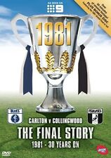 AFL - The Final Story - 1981 Grand Final (DVD, 2011, 2-Disc Set) NEW
