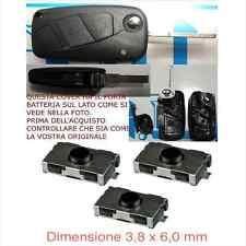 CHIAVE COVER TELECOMANDO FIAT BRAVO DUCATO GRANDE PUNTO QUBO +3 switch no logo