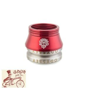 ODYSSEY-CONICAL-INTEGRATED-1-1-8-034-RED-BICYCLE-HEADSET